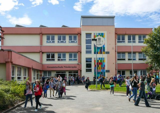 Schulfest 40 Jahre GSN